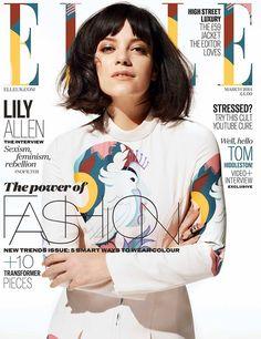 Miu Miu Covers - Lilly Allen for Elle UK March2014 - Miu Miu Addict - Miu…