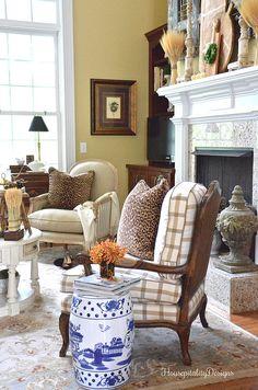 Great Room - Soft Surroundings Fall Blog Tour - Housepitality Designs