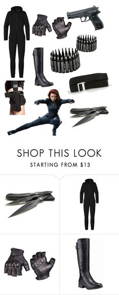 """Black widow"" by goddess0215 ❤ liked on Polyvore featuring Patagonia, Timberland and Arcade"