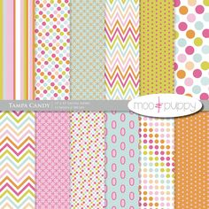 Digital Paper Pack   Tampa Candy   INSTANT DOWNLOAD by mooandpuppy  https://www.etsy.com/listing/109326970/digital-paper-pack-tampa-candy-instant?ref=shop_home_active_6