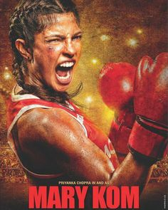 MARY KOM - FIRST LOOK OUT! The first look of Priyanka Chopra in and as Mary Kom is out! And we totally digging her rough and tough look in the film. #priyankachopra #marykom #peecee #bollywood #bollywoodactress #bollywooddivas #bollywoodhotties #biscootshowtym