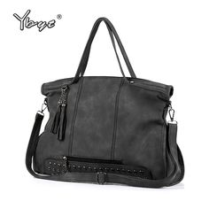 9a257ee77acb Ybyt бренд 2018 Новые повседневные большой емкости кисточкой женские сумки  высокого качества Женская сумка-шоппер