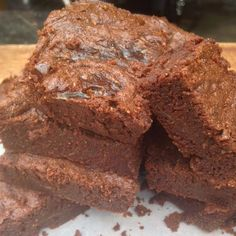 Fudge Brownies | Planks, Love & Guacamole