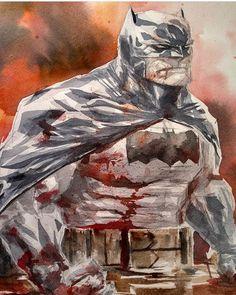 Awesome Art Picks: Thor, Harley Quinn, Boba Fett, and Dustin Nguyen, Dark Knight Returns, Design Comics, Dc Comics Art, Batman Family, Batman Robin, Cultura Pop, Comic Artist, Comic Books Art