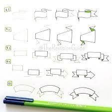 """Résultat de recherche d'images pour """"how to draw banners"""""""