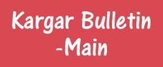 Kargar Bulletin