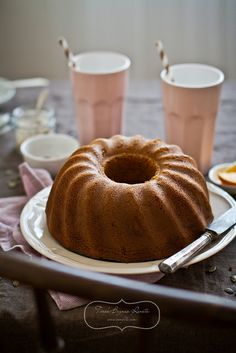 Butternut squash bundt cake. I replace the butter with melted coconut oil .