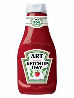 ART KETCHUP DAY SIGN - TeachersPayTeachers.com