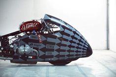 The Sprintbeemer nitrous injected Drag bike  , - ,   The long, aerody...