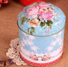 Barato Retro azul rosa cozinha café chá açúcar Container Jar de Metal, Compro Qualidade Jarras & Garrafas diretamente de fornecedores da China:     100% Brand New      Material: metal  Tamanho: Altura = 11 cm, largura = 9 cm aproximadamente  Quantidade: 1pcs