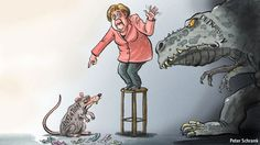 The Economist, June 16th; Angela Merkel is drawing the wrong lessons from the chaos of German history 2012