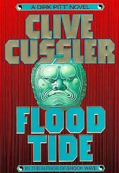 Flood Tide by Clive Cussler (1997, Hardcover, First Edition)
