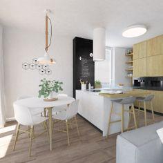 Kkuchyna a farba, tabulova stena, barovy pult
