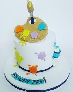Cake Artist - Cake by Nurisscupcakes