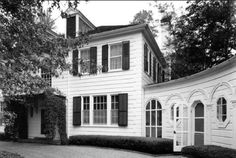 Located at 3376 Inwood Drive, this was the first home built in River Oaks. Designed by Briscoe and Dixon in1924, it served as a summer residence for Will Clayton. John Daugherty, Realtors
