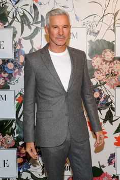 """Baz Luhrmann looking dapper in a suit for the film release party of """"The Secret Life of Flowers"""". Male Fashion, Fashion Models, Fashion Trends, Baz Luhrmann, Looking Dapper, Erdem, Secret Life, Short Film, Pattern Fashion"""