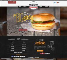 Bruggers Bagels website