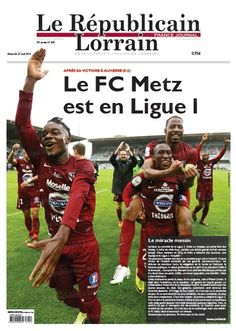 FC METZ is back in the French First League !