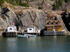 Located on the island of Newfoundland in the Atlantic Ocean, the city of St. John's is known for its vibrant culture and friendly locals. Newfoundland Canada, Newfoundland And Labrador, Stuff To Do, Things To Do, Atlantic Ocean, St John's, Places To Travel, Small Houses, Island
