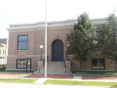 Perry Carnegie Library Building in Dallas County, Iowa.