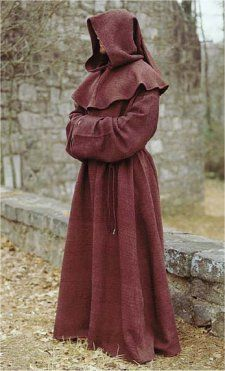 Deluxe Monk's Robe: Renaissance Costumes, Medieval Clothing, Madrigal Costumes by The Tudor Shoppe