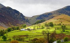 5 Hidden Gems in the Lake District - Newlands Valley, Cumbria photo by Peter Henry Winter Landscape, Landscape Photos, London England, Oxford England, Cornwall England, Yorkshire England, Yorkshire Dales, Hillside Garden, Walking Routes