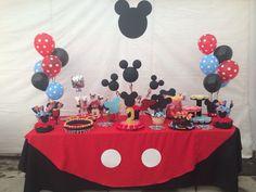 Mesa de dulces Micky Mouse