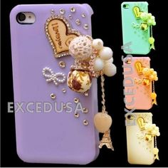 For-Apple-iPhone-5-5s-6-4-7-6-Plus-5-5-Crystal-Bling-Cute-Fashion-Frame-Cover