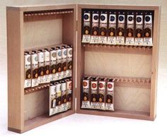 Paint storage systems and organizers for the tole and decorative painter. Craft Paint Storage, Craft Room Closet, Supply Room, Acrylic Tube, Paint Tubes, Paint Supplies, Woodworking Workbench, Tole Painting, Cool Paintings