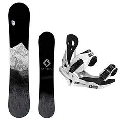 177d306ecdfd System 2019 MTN Snowboard with Summit Bindings Men s Snowboard Package