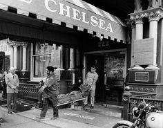 Nancy Spungeon death - Chelsea Hotel