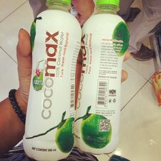 I could not find Cocomax for 2 weeks. The joy when I saw these stocked in 7-11!  They've repackaged the bottle. #addicted