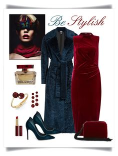 """""""MSGM Teal Crushed Texture Coat Look"""" by romaboots-1 ❤ liked on Polyvore featuring MSGM, Monsoon, Gianvito Rossi, The Row, INC International Concepts and Dolce&Gabbana"""