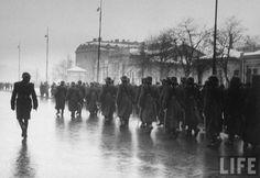 Bucharest Romania 1940 romanian men troops world world two ww2 romanians