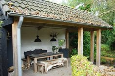 Tuinhuisje ? De hoogste kwaliteit tuinhuisjes vind u bij Jan de Boer Tuinhuizen.