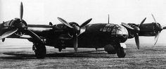 A prototype long-range strategic bomber of the Luftwaffe that had the objective of being able to strike the continental United States from Germany.