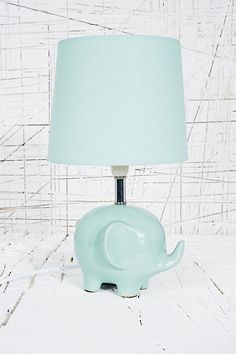 Elephant Lamp EU Plug in Grey - Urban Outfitters elephant Nursery ideas. Perfect for grey themes. Elephant Baby Rooms, Elephant Lamp, Cute Elephant, Elephant Stuff, Elephant Room Ideas, Grey Elephant, Happy Elephant, Elephant Theme, Elephant Gifts