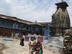 Ukhimath - named after Usha as Ushamath - Usha got married to the grandson of Lord Krishna in this site - a pilgrimage on the Himalayas   #IndianColumbus  http://indiancolumbus.blogspot.com/2016/01/ukhimath.html