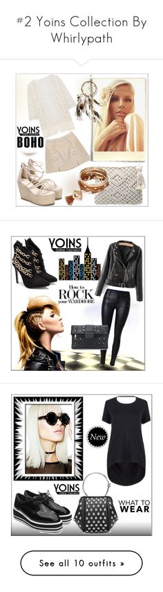 """""""#2 Yoins Collection By Whirlypath"""" by whirlypath ❤ liked on Polyvore featuring vintage, Witch Worldwide, Redford House, mark., modern and Wildfox"""