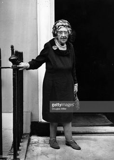 13th October 1970: British crime writer Agatha Christie on her 80th birthday