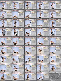 Vibefit.ca- Whole Body Vibration Exercise Chart: