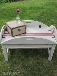 Butler Tray Coffee Table Makeover