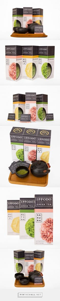 Ippodo Tea Co. (Student Project) - Packaging of the World - Creative Package Design Gallery - http://www.packagingoftheworld.com/2016/07/ippodo-tea-co-student-project.html