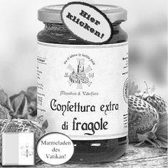 Herrlich aromatisch ist diese Erdbeerkonfitüre! Hier klicken: http://blogde.rohinie.com/2013/01/honig/ #Vatikan #Konfituere #Marmelade #Erdbeere