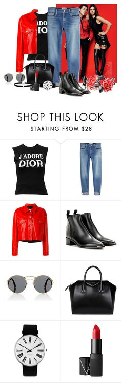 """""""Born to die"""" by samydorneles17 ❤ liked on Polyvore featuring Christian Dior, Frame, Golden Goose, Acne Studios, Prada, Givenchy, Rosendahl, NARS Cosmetics and Amanda Rose Collection"""