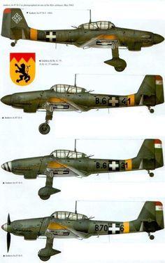 """Hungarian Air Force Junkers Ju 87 D """"Stuka"""""""