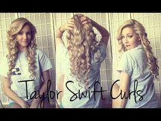 Voluminous Taylor Swift Curls ♡ @Missy Jansen for homecoming