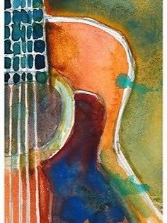 Watercolour -Acoustic Guitar -  DEC - RIFKIN