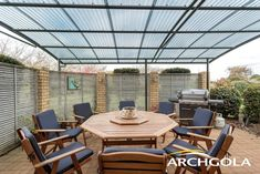Looking to extend your living space? Add an Archgola to your home and it's like adding a new room, for a fraction of the price. Archgola awnings are custom-made to your style and budget. Customise your Archgola awning design, frame colours and roof tints, to achieve the shade and shelter you're looking for. Call us now on 0508 272 446 for a FREE measure & quote. Outdoor Awnings, Roof Shapes, Outdoor Shelters, Outdoor Shade, Outdoor Furniture Sets, Outdoor Decor, Outdoor Areas, New Room, Living Spaces