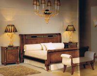 Italian Style Bedroom Set, Italian Bed, Dresser, Nightstand and Mirror
